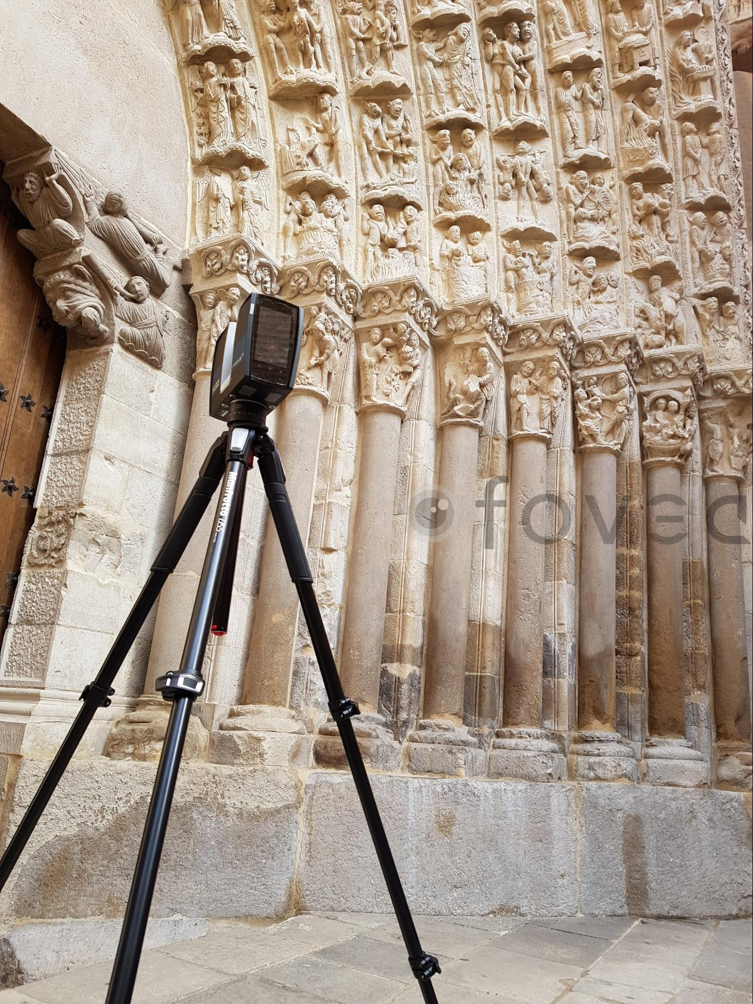 fovea church scanning