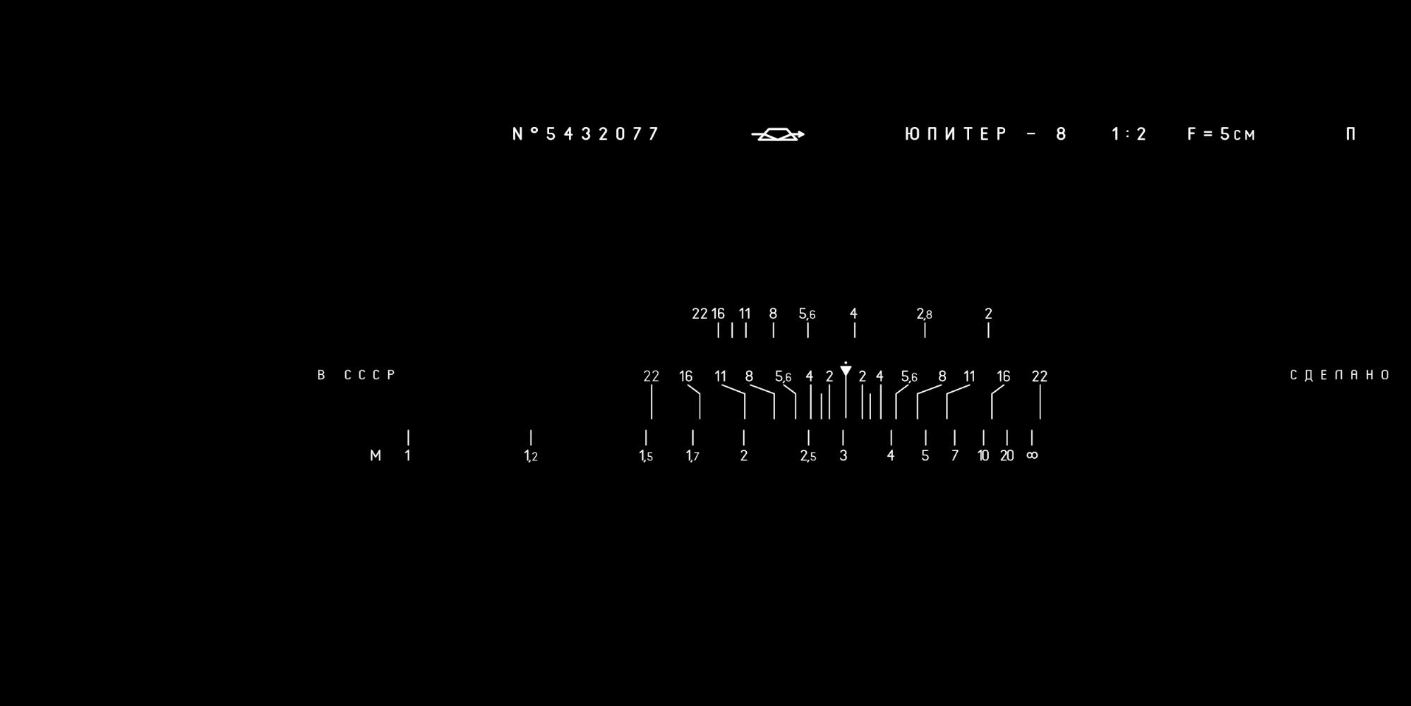 zorki-4 inkscape markings