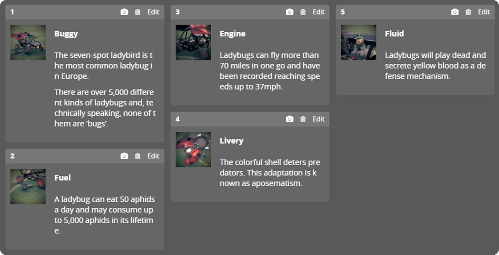 ladybuggy sketchfab annotations