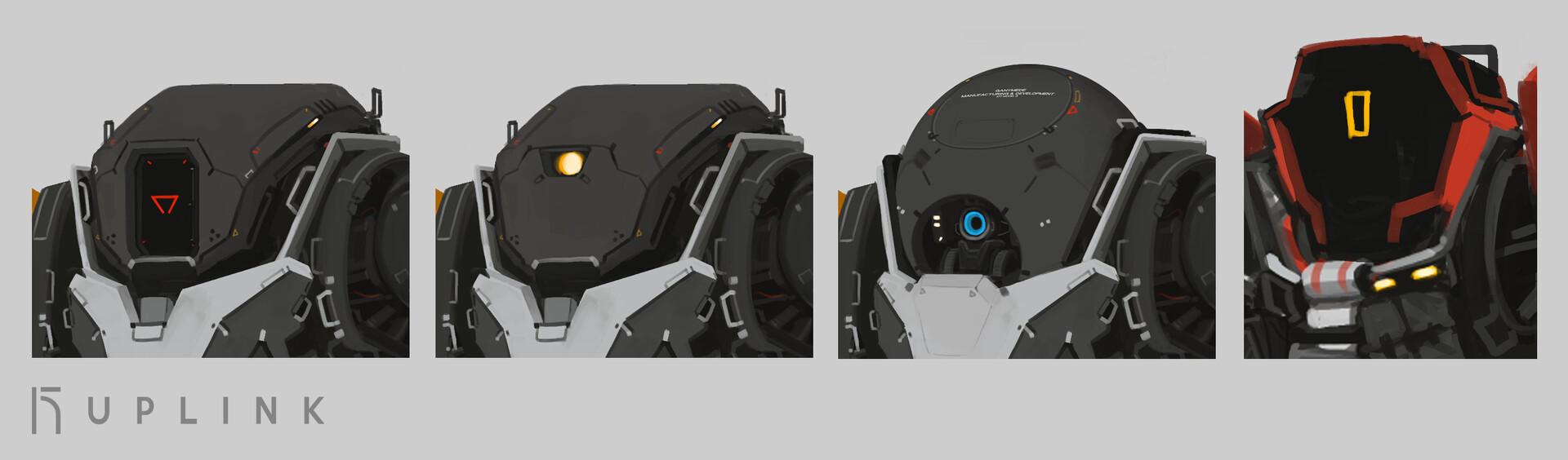 ganymede head concept