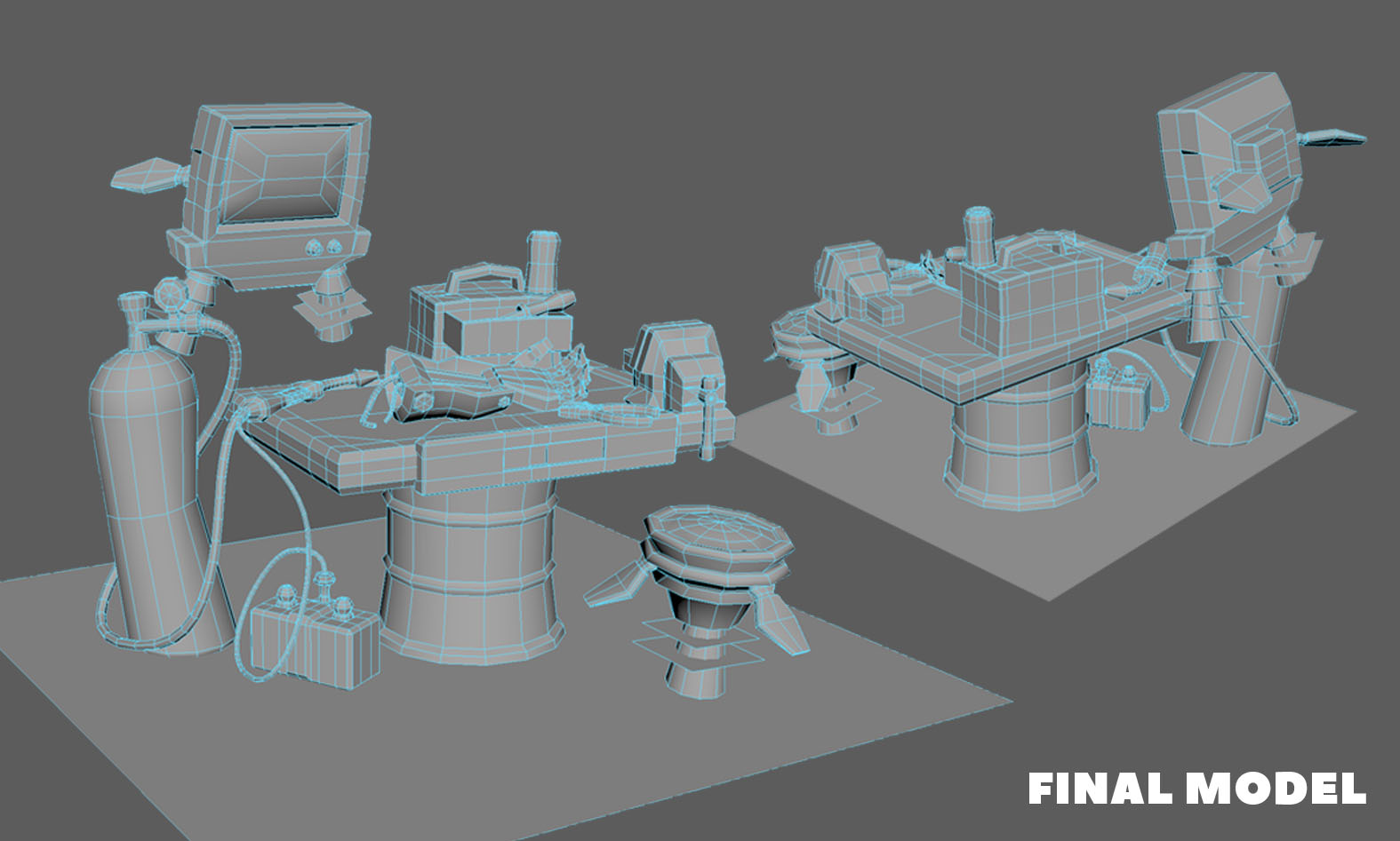 junkyard battle bot final model