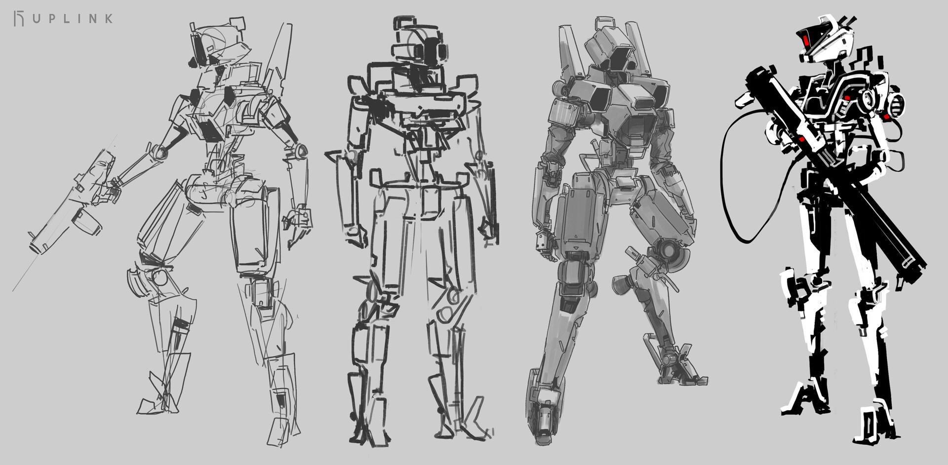 ganymede concept sketches