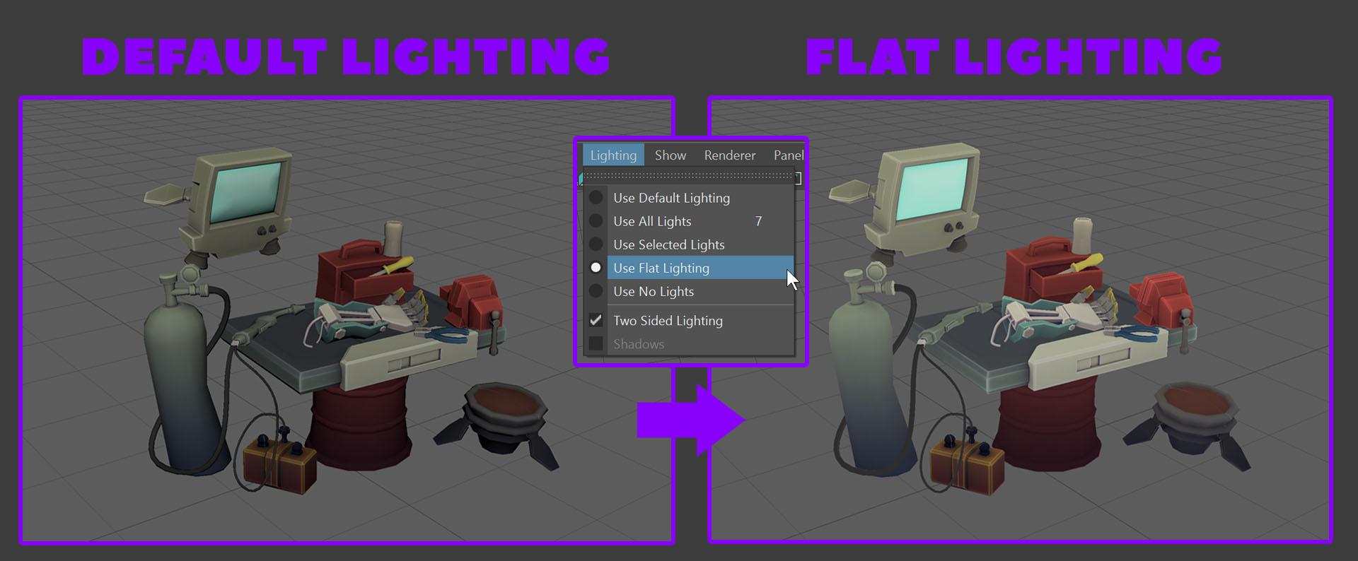 junkyard battle bot lighting