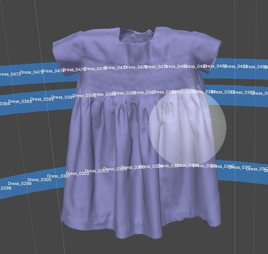 agisoft dress mesh cleanup