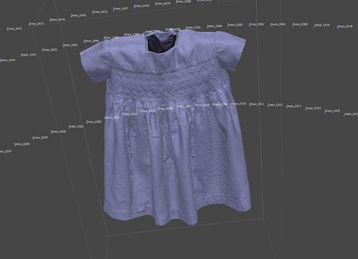 agisoft dress mesh
