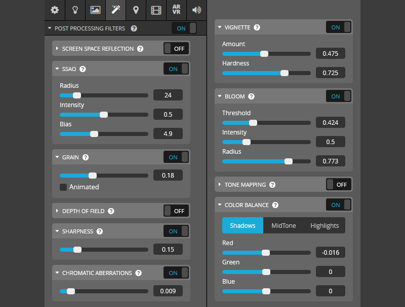police chase sketchfab settings