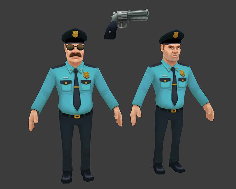 3d policemen