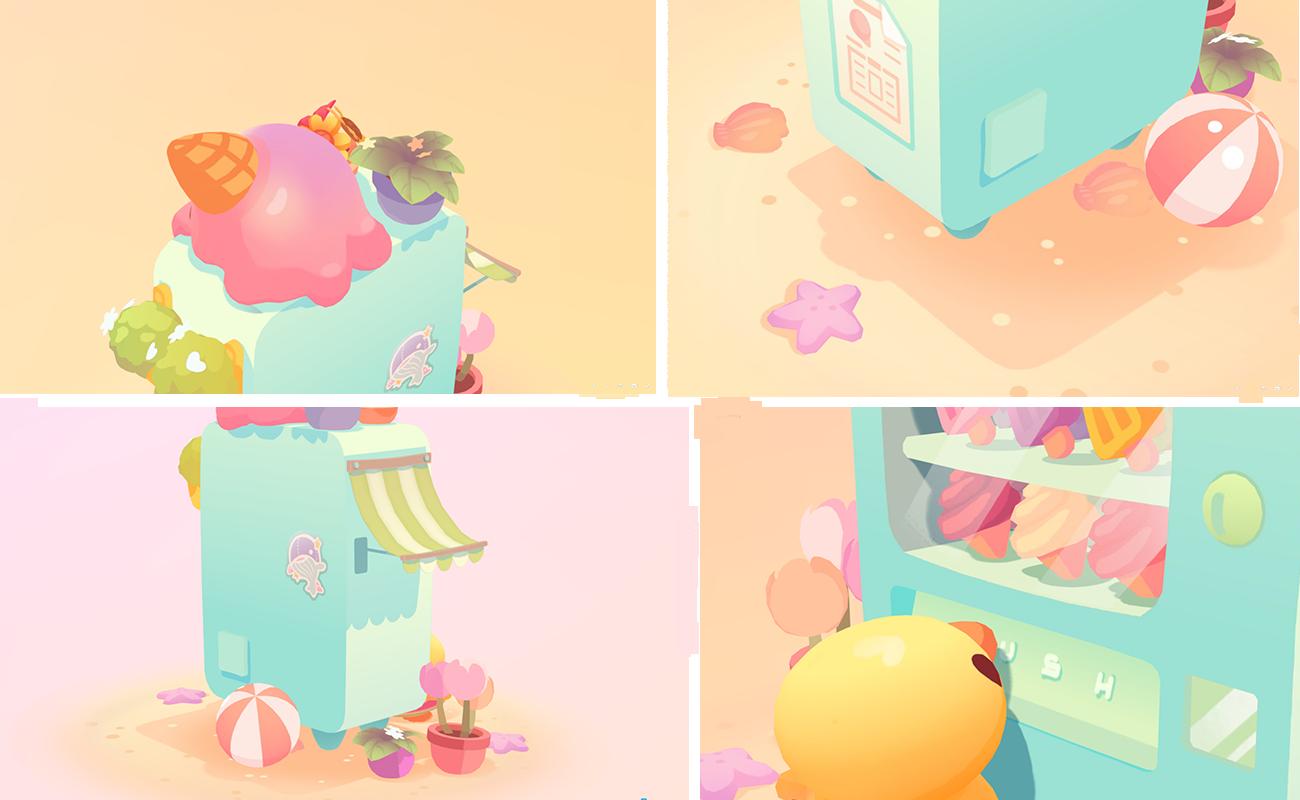 gelato dreams final renders
