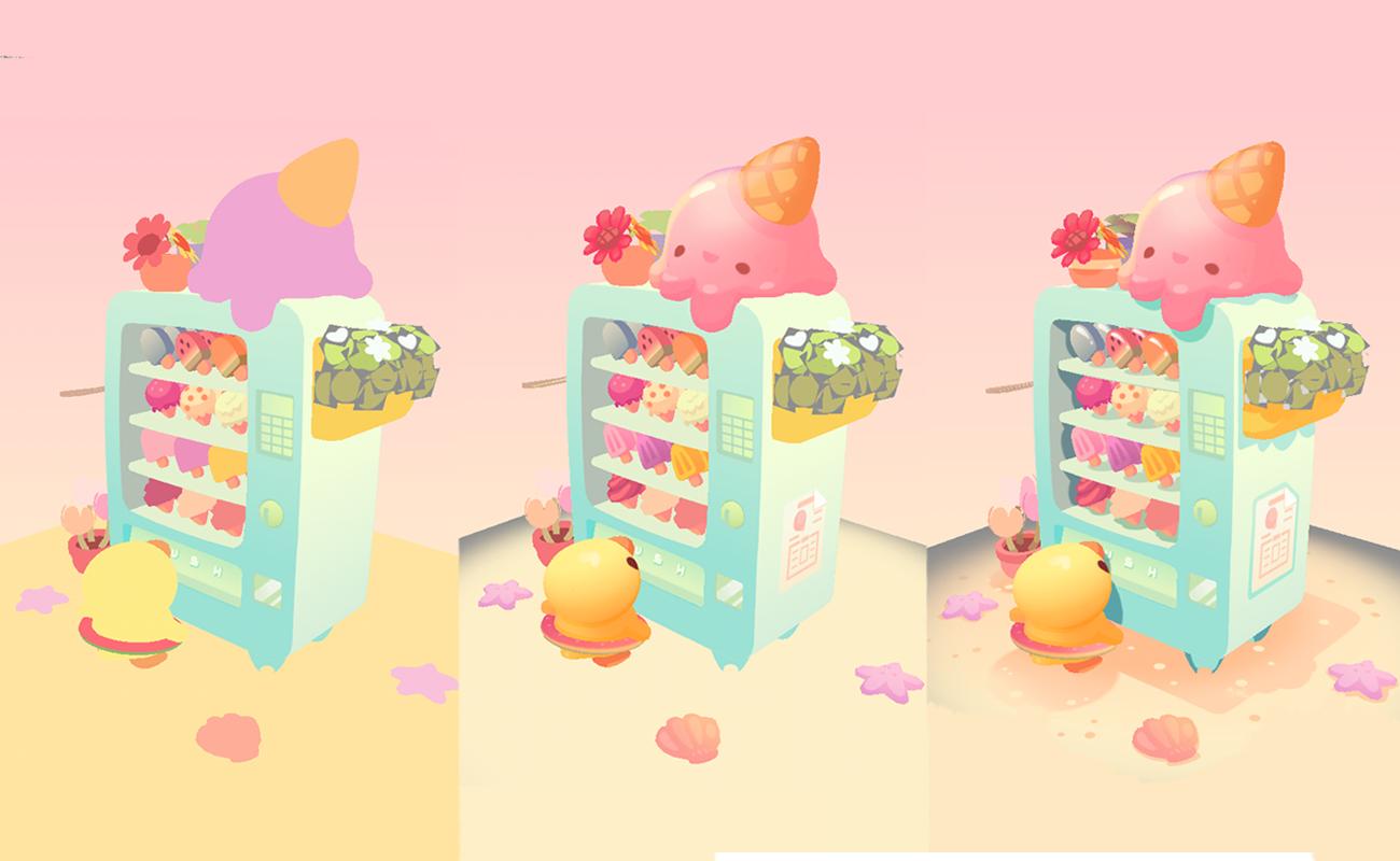 wishing machine gelato dreams texture