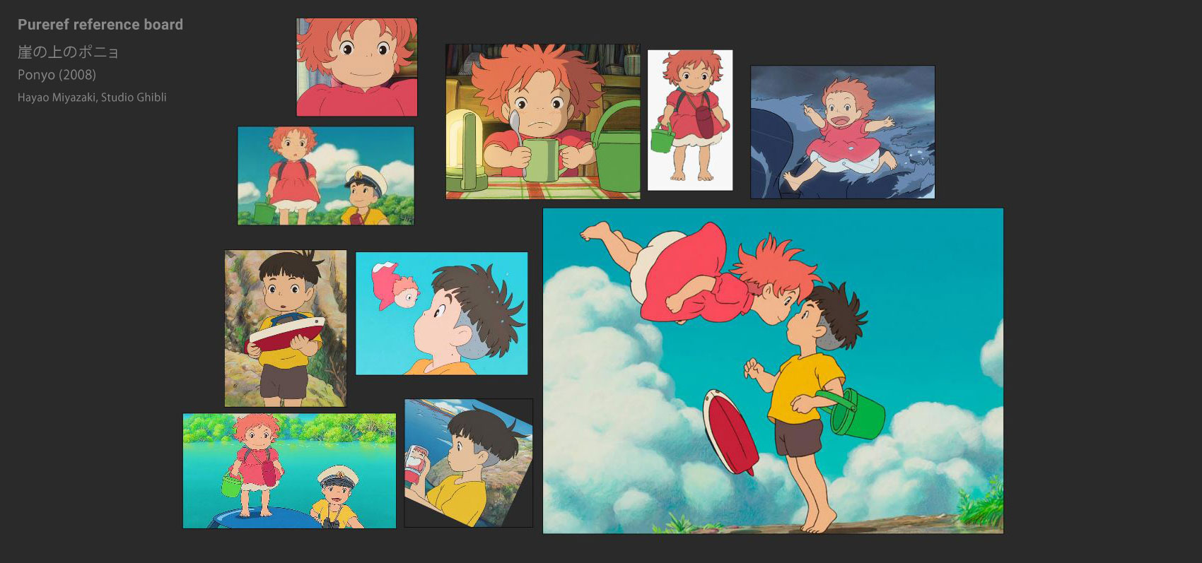 ponyo reference images