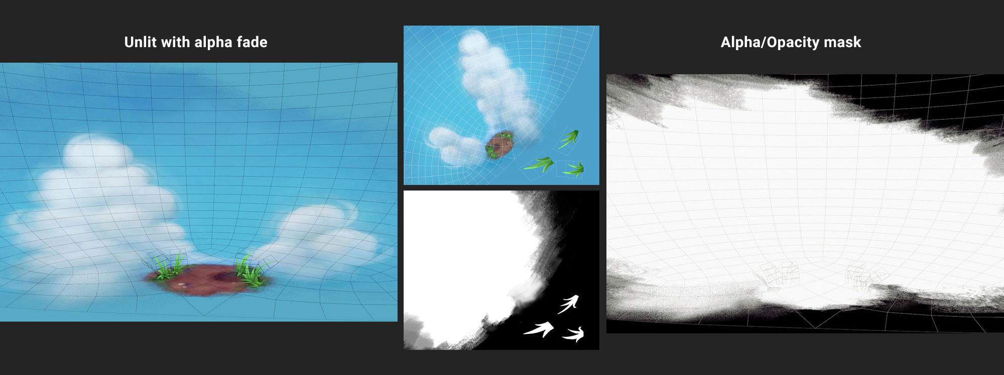clouds alpha fade