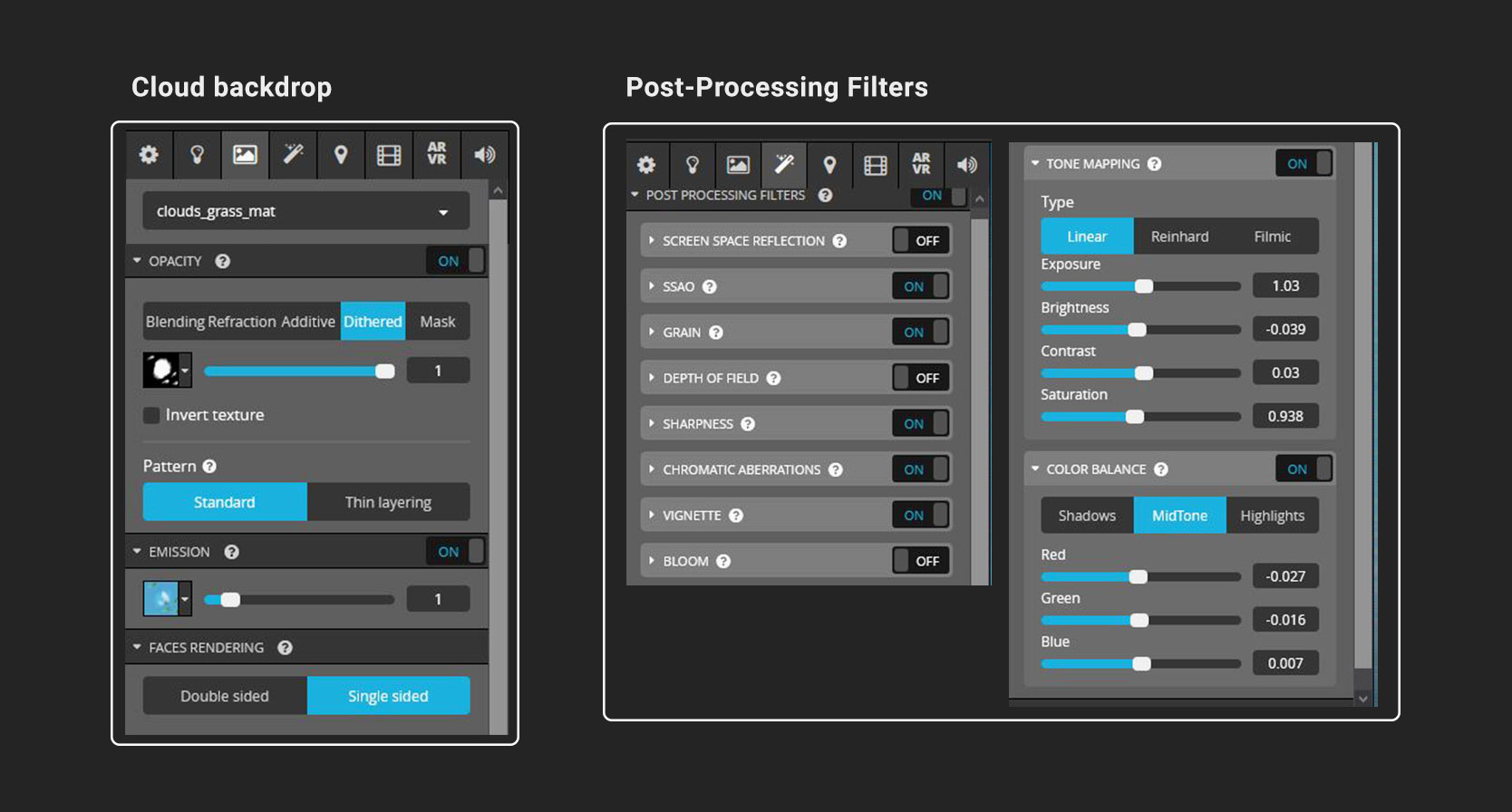 sketchfab post-processing