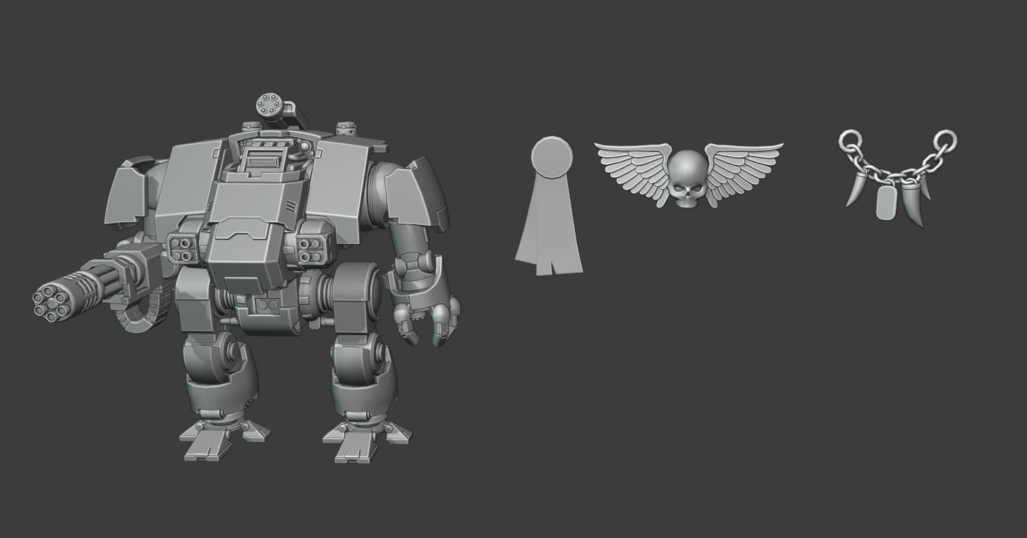 dreadnought redemptor modeling