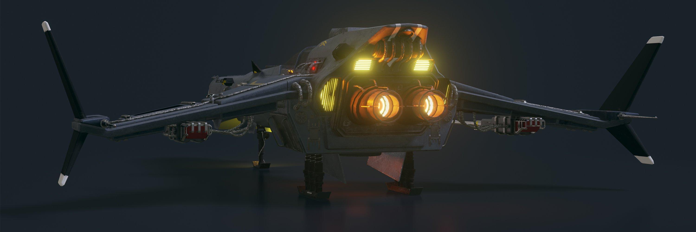 Spaceship Vigilant A-620 header image