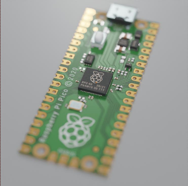 raspberry pi pico render