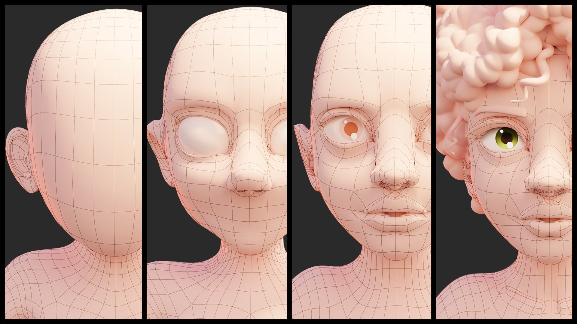 character modeling process