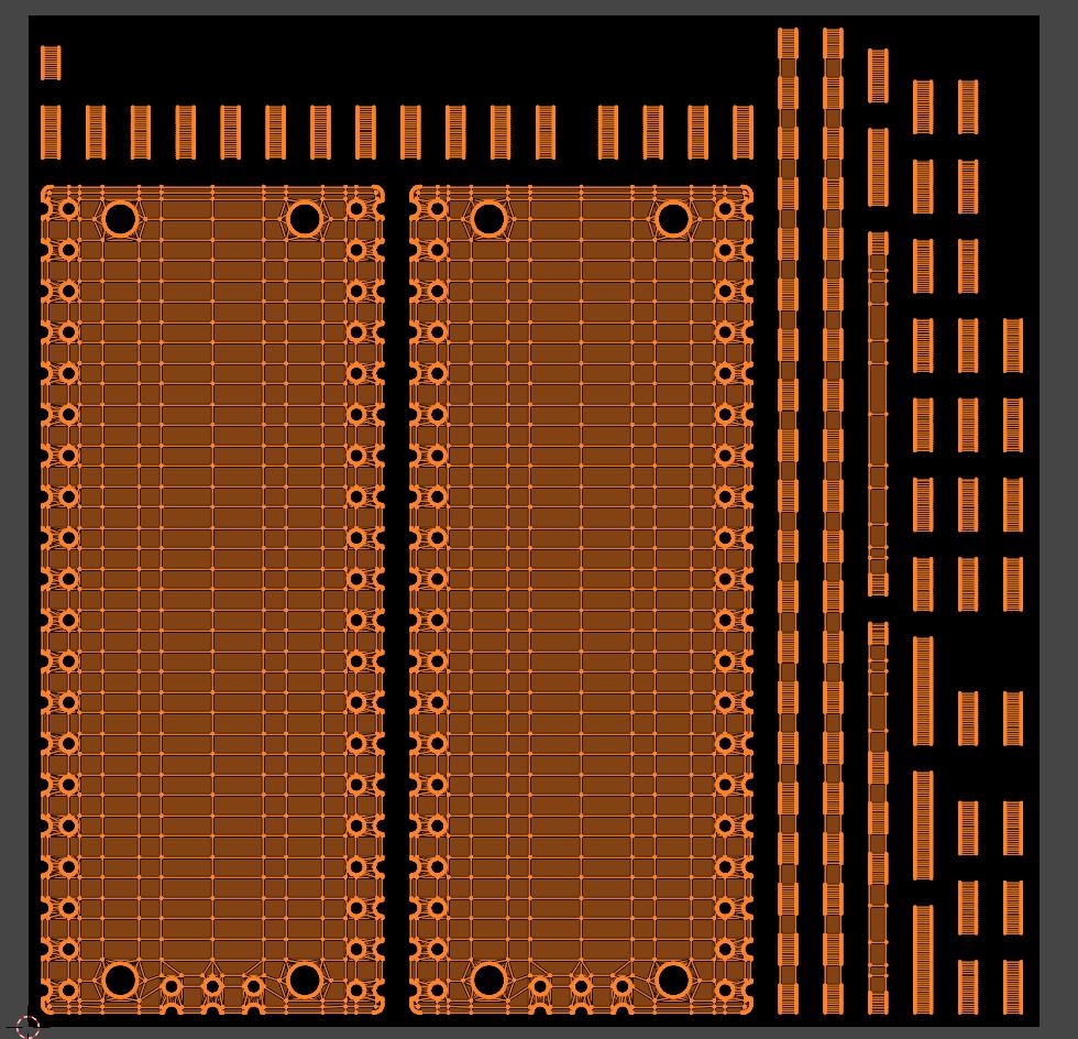 circuit board uv map
