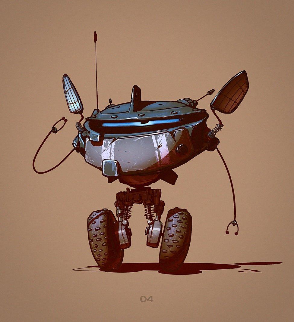 ruslan safarov robot concept