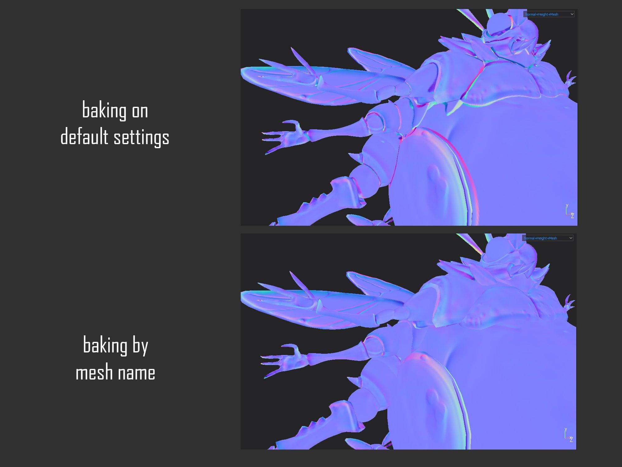 big buggus normal map image