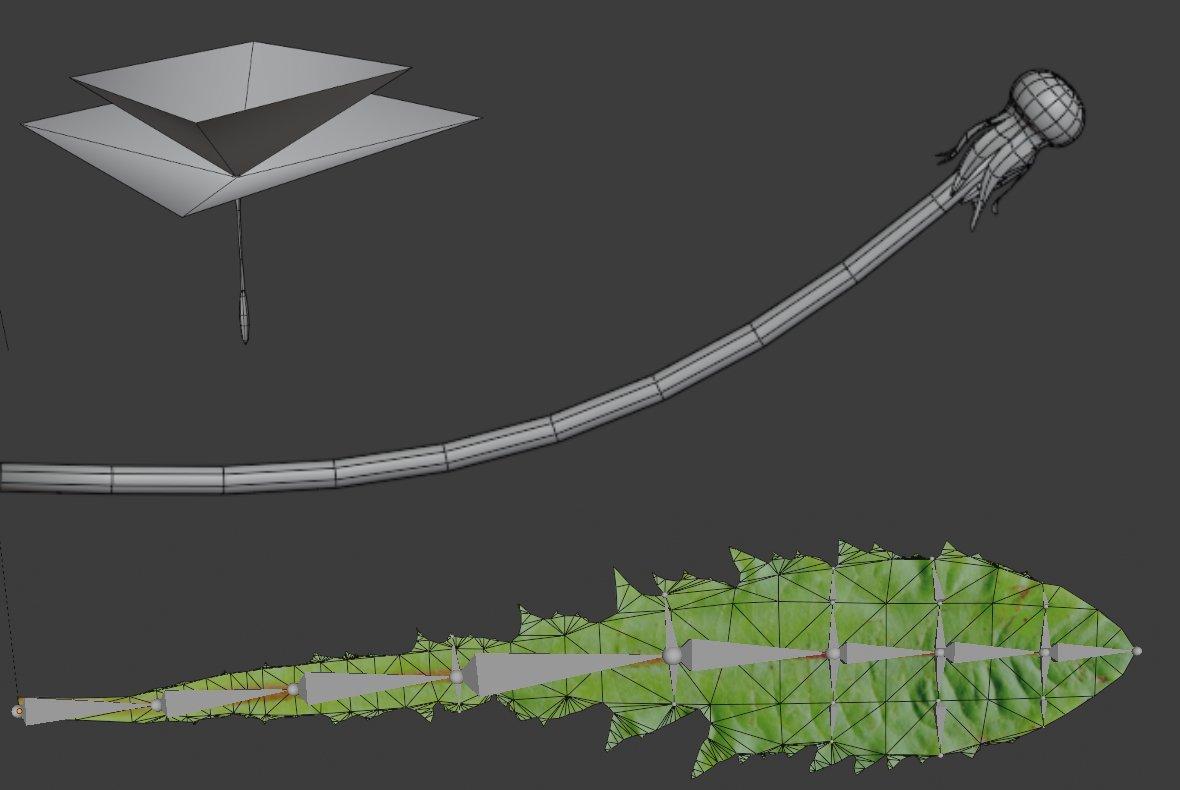 dandelion mesh image