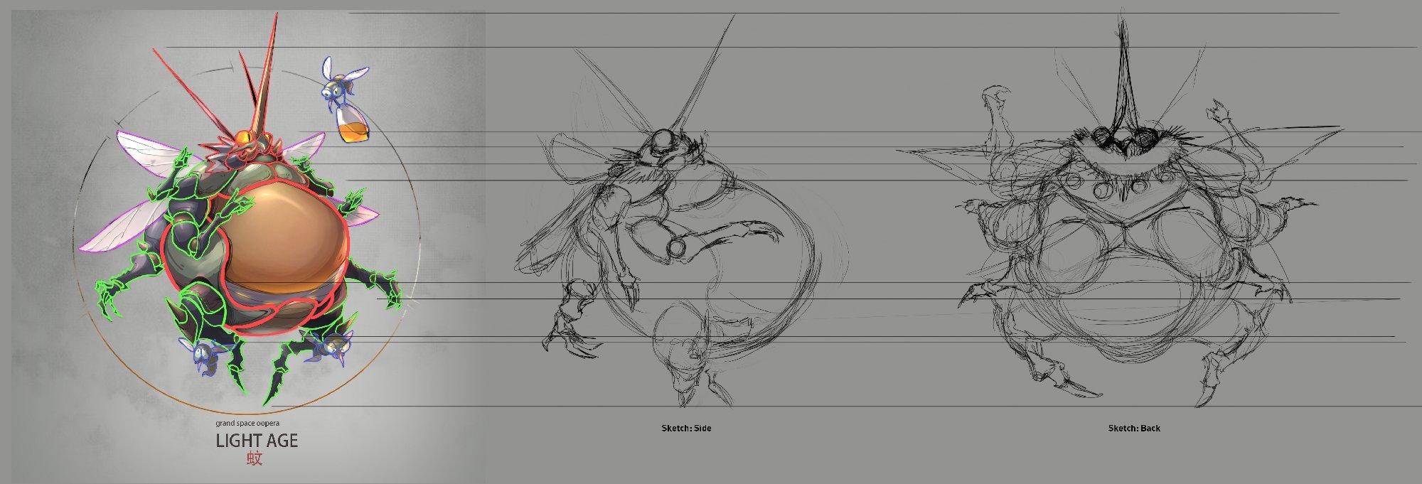 big buggus concept sketch image