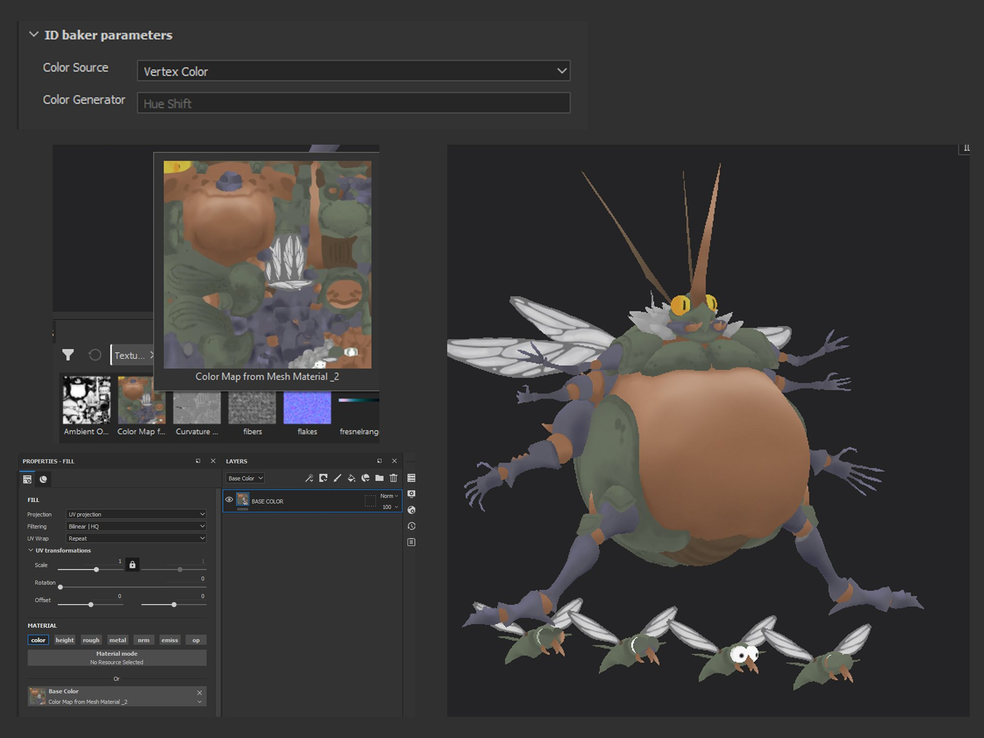 big buggus color bake image