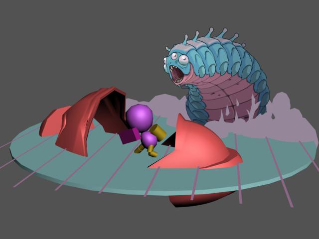 the bug butcher blockout image