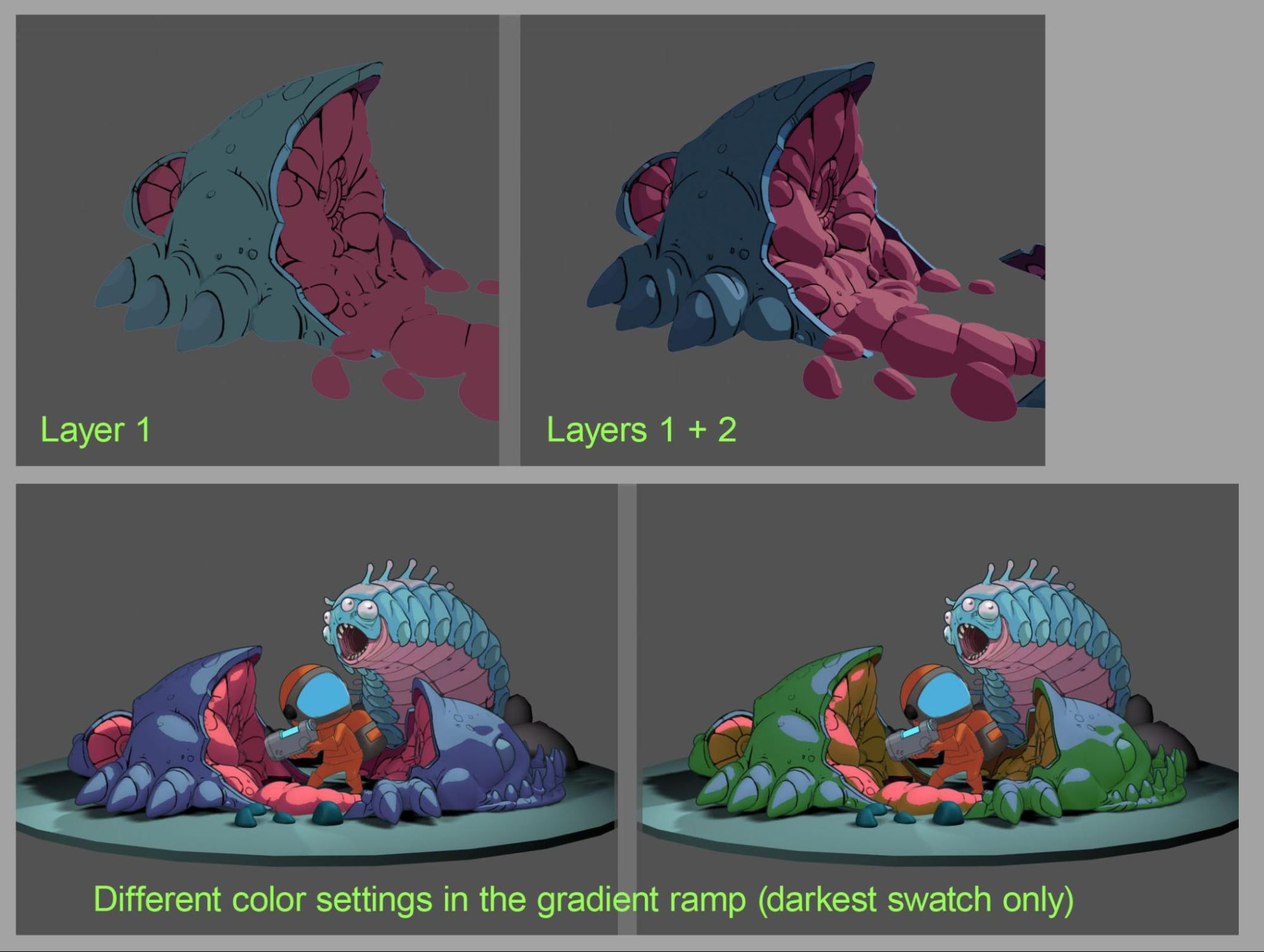 bug butcher texturing image