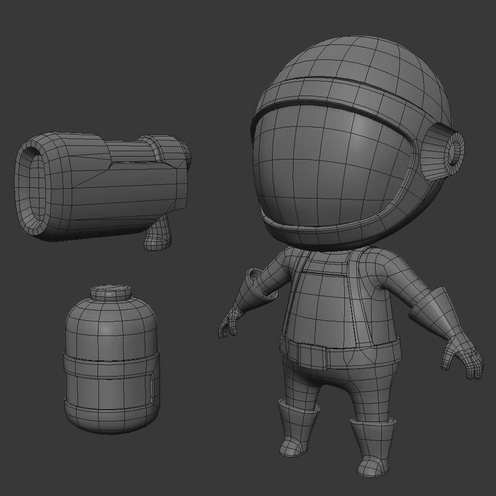 bug butcher character mesh image