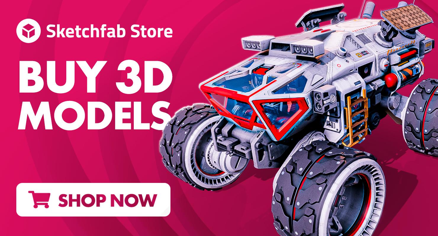 Buy Models on Sketchfab