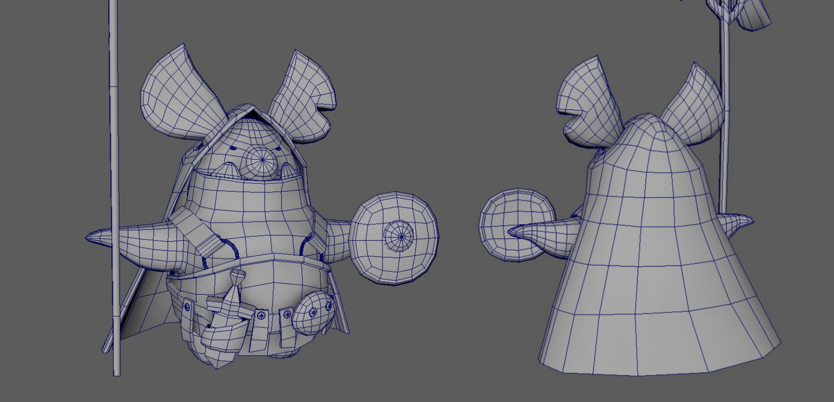 orc wireframe