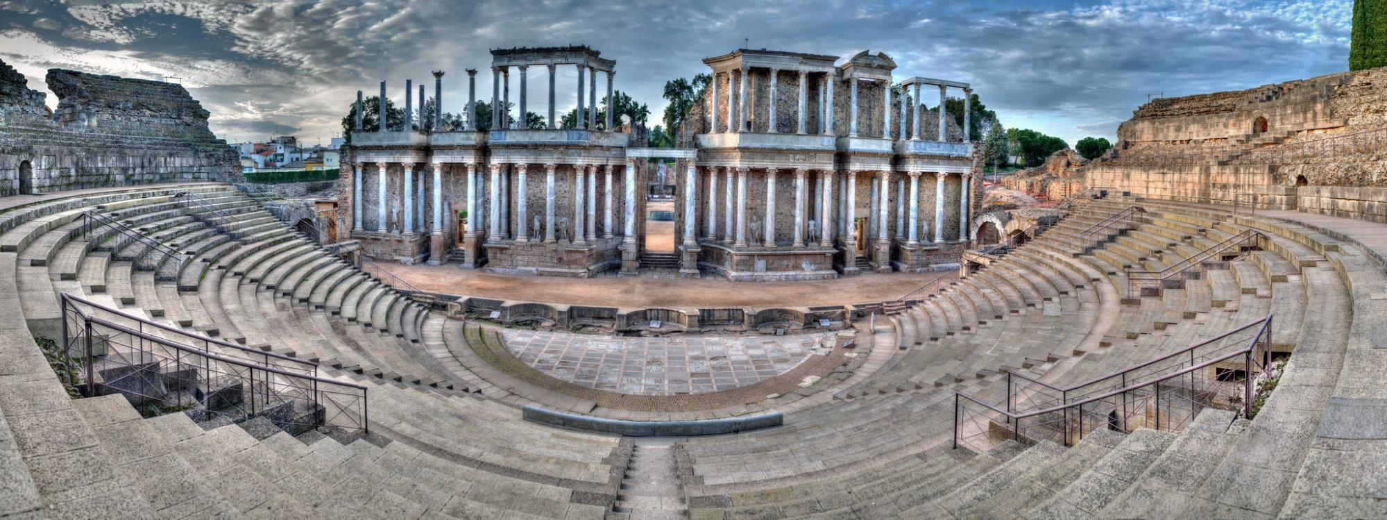 The Roman theatre of Mérida