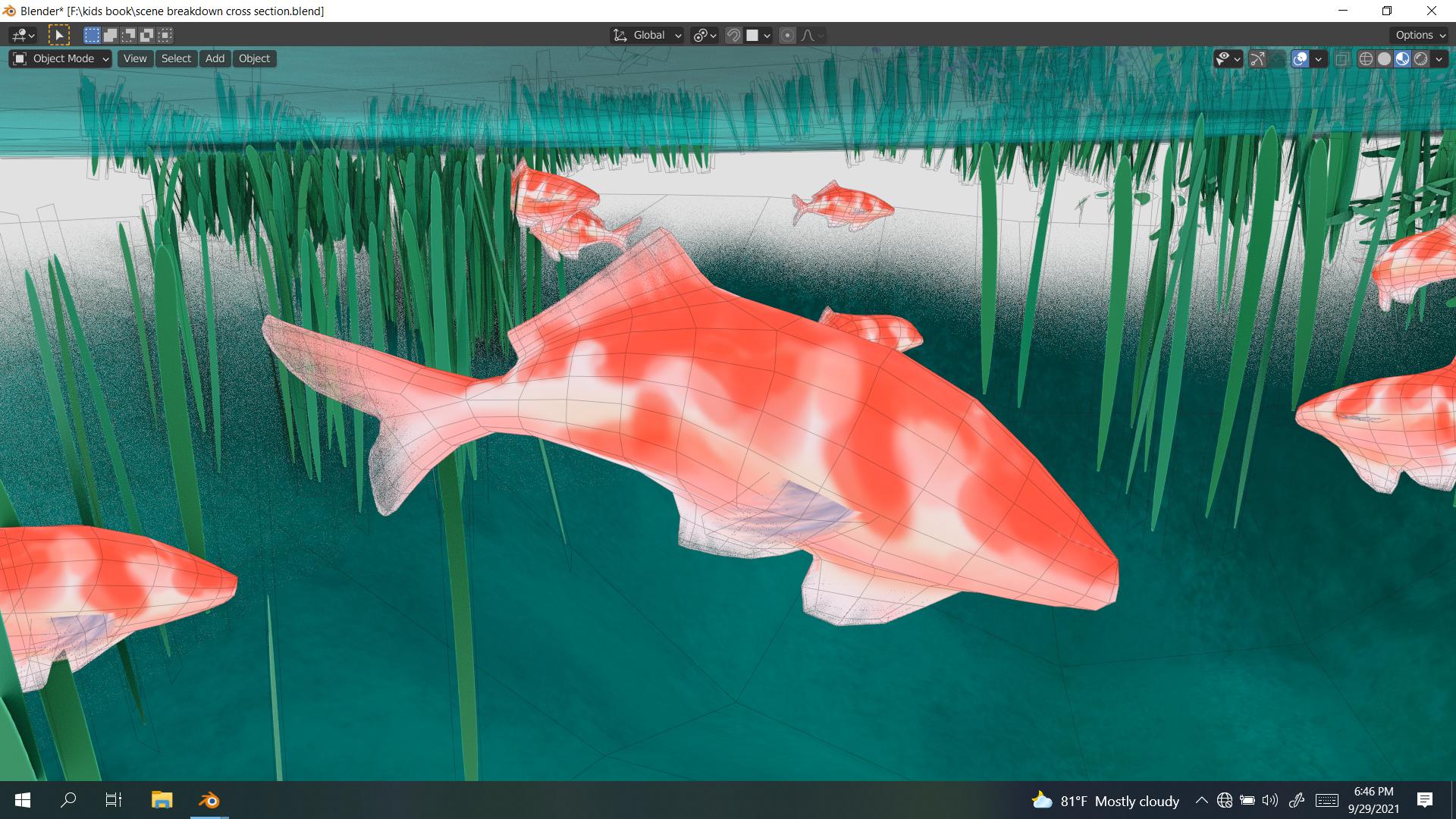 lake of true desires fish texture