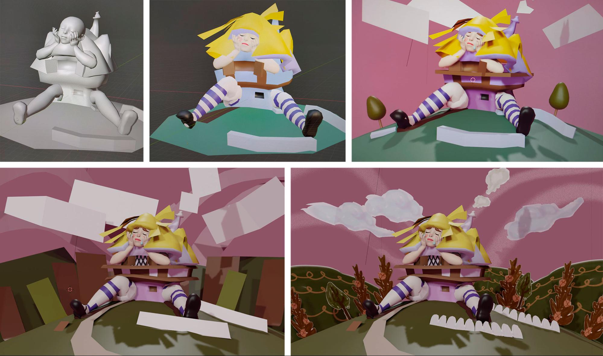 alice in paperland blockout