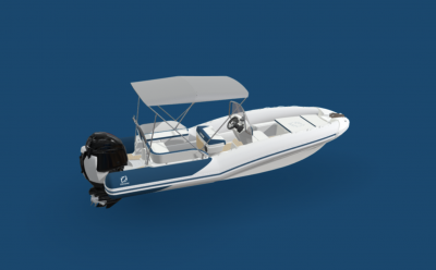 Zodiac | Case Study: 3D Configurator for Boats