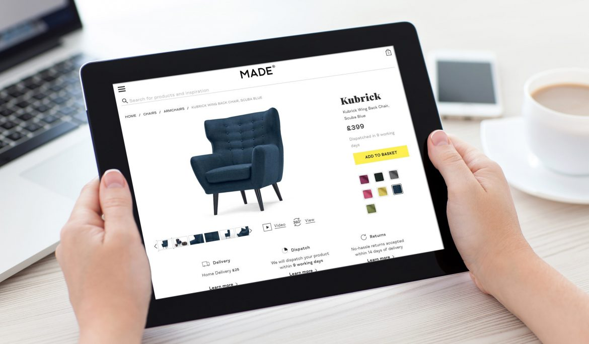 Case Study: 3D Viewer for Ecommerce, MADE.COM