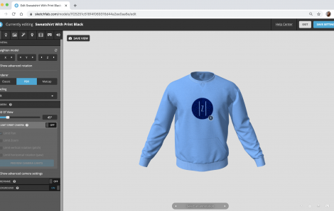 Sketchfab Collaborates with Browzwear to Bring 3D Garment Assets to Any Web Page