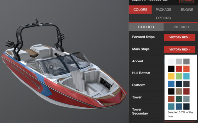 From 2D to 3D: A Unique Vehicle Configurator Tool for Nautique's Consumers and Dealers