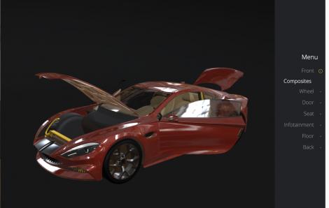 An Interactive 3D Portfolio for Coats Automotive