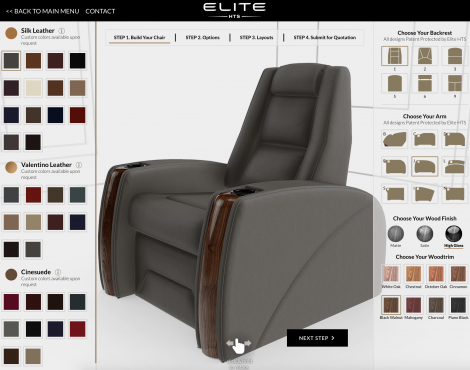 Elite HTS Increased its Sales Conversion Rate by 20% with a 3D Configurator