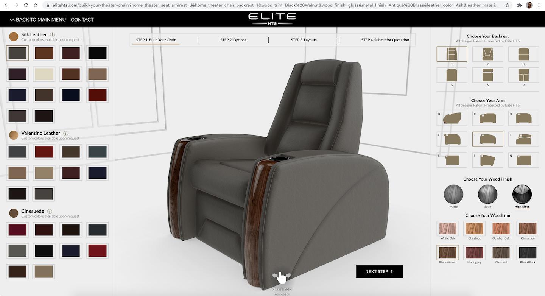 elite home 3d configurator - sketchfab