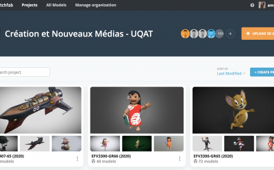 Sketchfab for Teams Facilitates Collaboration and Communication at UQAT
