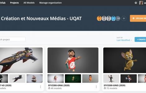 Sketchfab for Teams Facilitates Collaboration and Communication at UQAT