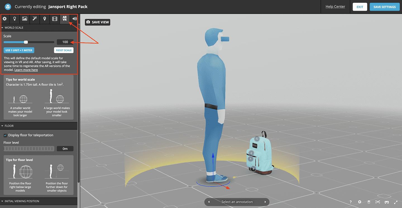 AR-scale-sketchfab