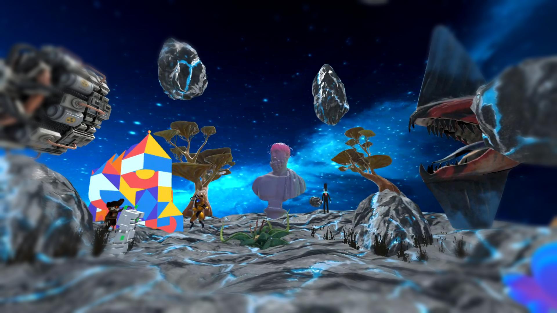Sketchfab X Mozilla Hubs - Interdimensional Art Event