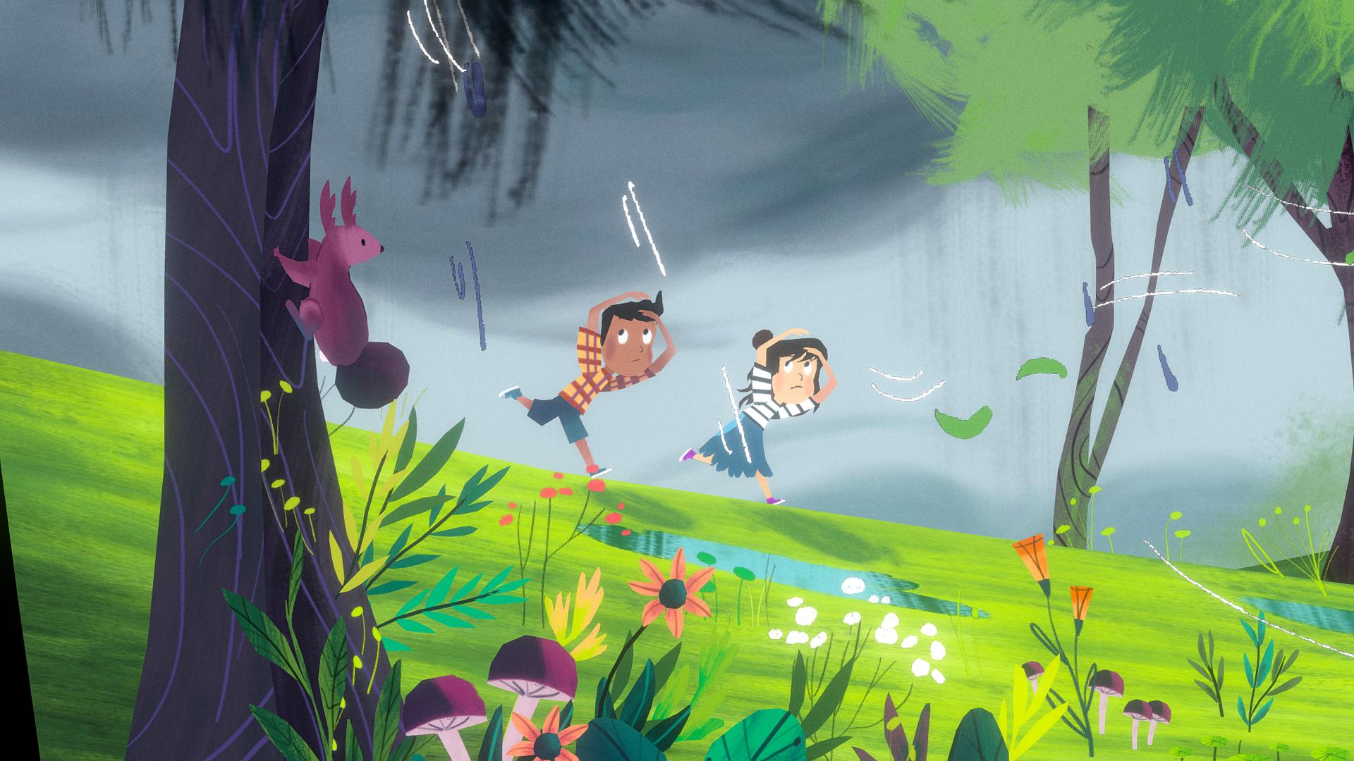 Storybook Scene Hand-painting Challenge